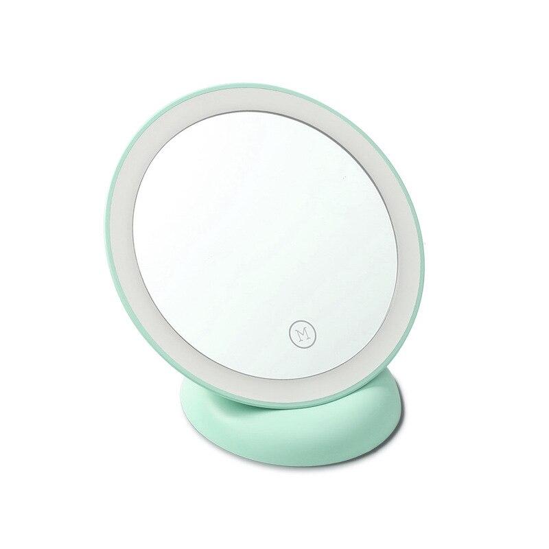 Haut Pflege Werkzeuge Zd Neueste Led Kosmetikspiegel Einseitig Verriegelung Machen Up Spiegel Mit Lichter Kompakte Saugnapf Flexible 360 Grad Xn20 AusgewäHltes Material Schminkspiegel