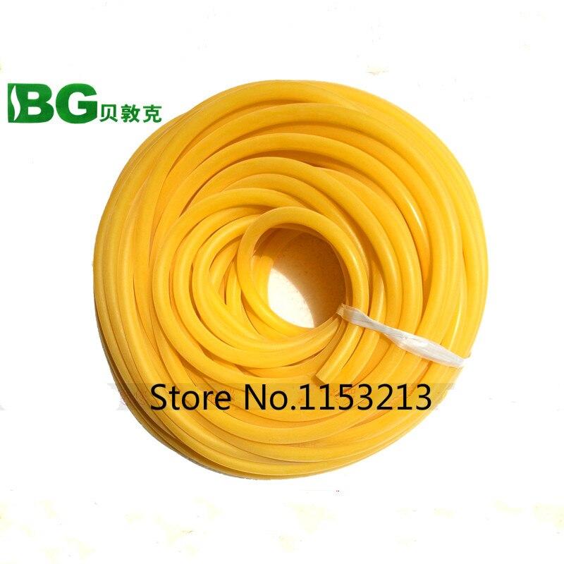10m Bg Latex Tube 4x6mm Link Pipe Tourniquet Straps Rubber Tube Band Pressure Veins Belt Special Elastic Hose For Slingshot Exquisite Workmanship In