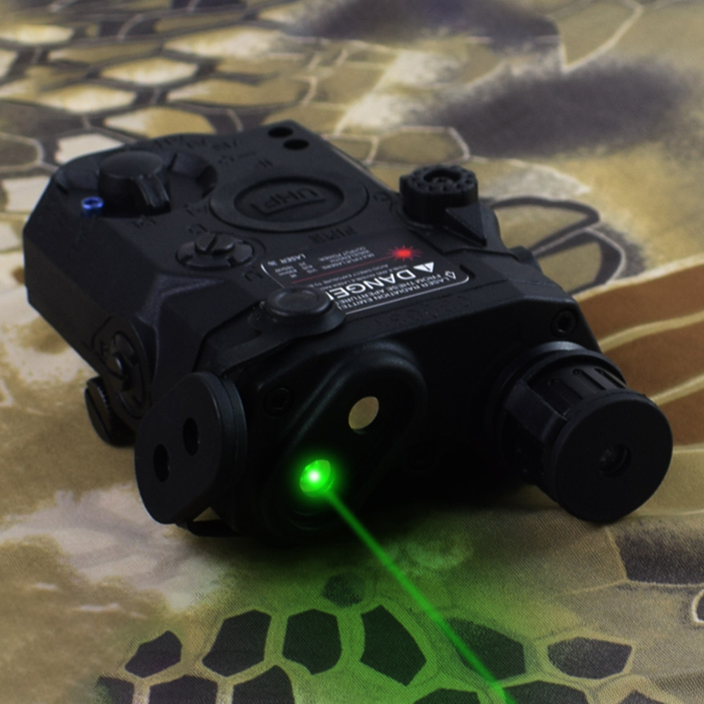 Image 5 - WADSN Airsoft PEQ LA5C With green dot lazer Tactical UHP Appearance No Function Just Green Laser Zero Reset Weapon Lights WEX453-in Weapon Lights from Sports & Entertainment
