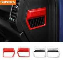 Shineka автомобиля внутренний Стайлинг Кондиционер Выход вентиляционная чехол накладка для ford f150 2015 +