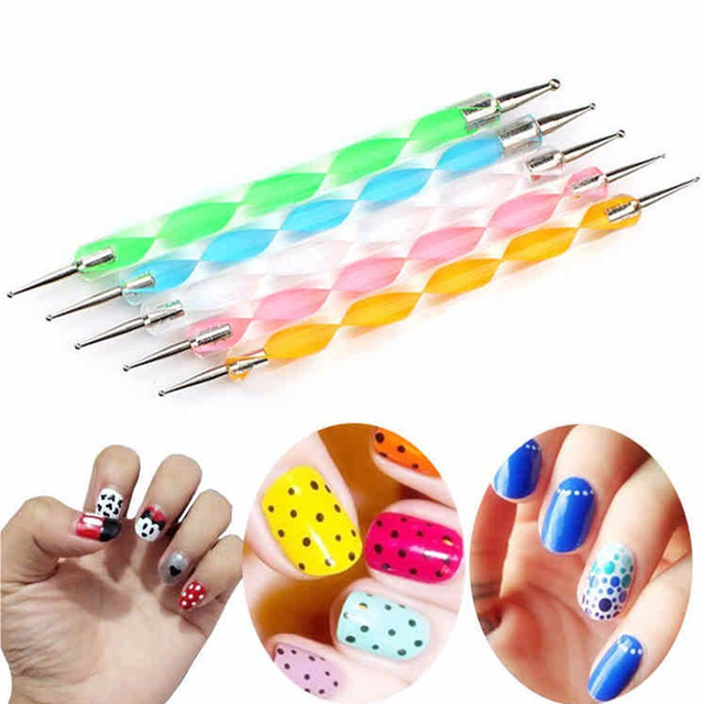 25 PCS Mandala Painting Dotting Tools with Dotting Rods Ball Stylus Pen Stencil Paint Tray Brushes for Nail Rock Fabric Wall Art 2