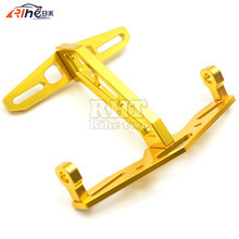 Motorbike Accessories Motorcycle License Number Plate Frame Holder Bracket Golden Color For HONDA MSX 125 MSX