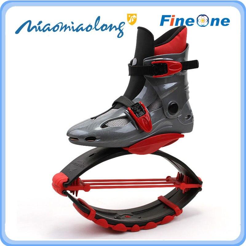 2019 Newest High Jump Bounce Shoes Kangaroo Jumping Elastic Men Fitness Training Shoes Kid Skating Moon Walk Jumping Shoes