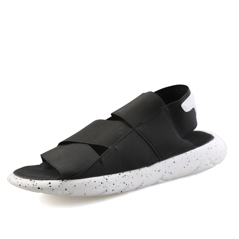 5eb70d38f563 2016 New Arrival Y3 Sandals KAOHE SANDALS Outdoor Men Slippers Open toed  Leather sandals Men Sandals G DRAGON Slides Top Quality-in Men s Sandals  from Shoes ...
