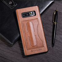 For Samsung Galaxy Note 8 Case Cover PU Leather Coque Credit Card Holder Luxury Slim Phone