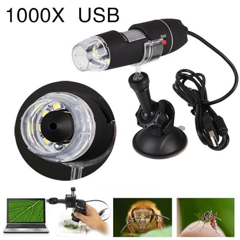Jetery 2MP 1000X 8LED USB hordozható digitális mikroszkóp - Mérőműszerek - Fénykép 6