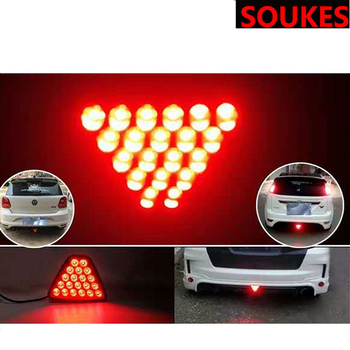 Car LED Strobe Brake Stop Light Lamp 12V Rear Tail For BMW E46 E39 E90 E60 E36 F30 F10 E34 X5 E53 E30 F20 E92 E87 M3 M4 M5 X5 X6 image