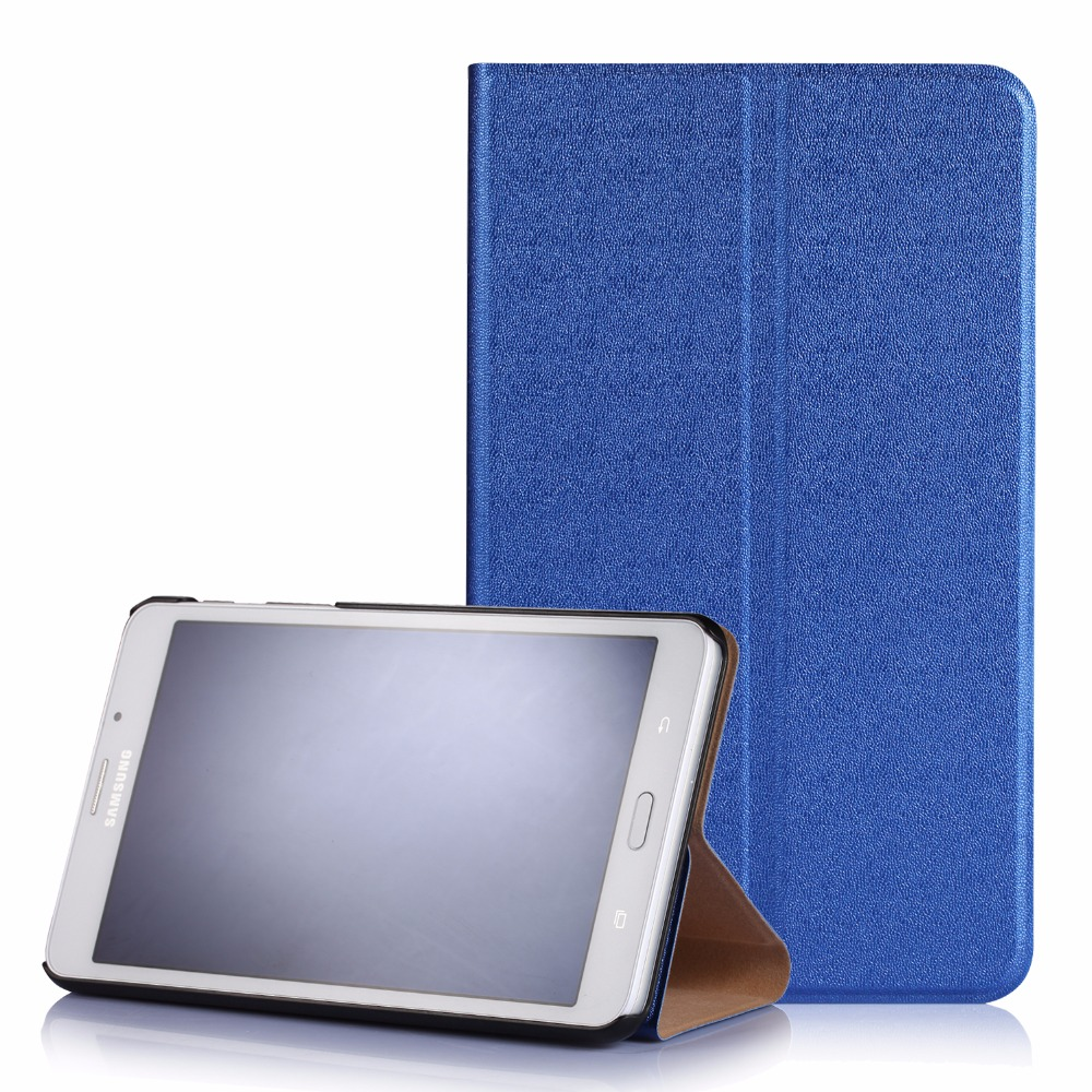 Fashion PU leather Case For Samsung Galaxy TAB A 7.0 T280/T285 7 inch two Folding Cover for Samsung Tablet e-book 7