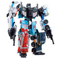 Transformation Wei Jiang Defensor Giant War 5In1 Combined Alloy Oversize PATRON SAINT Deformation TF Robot FigureToys