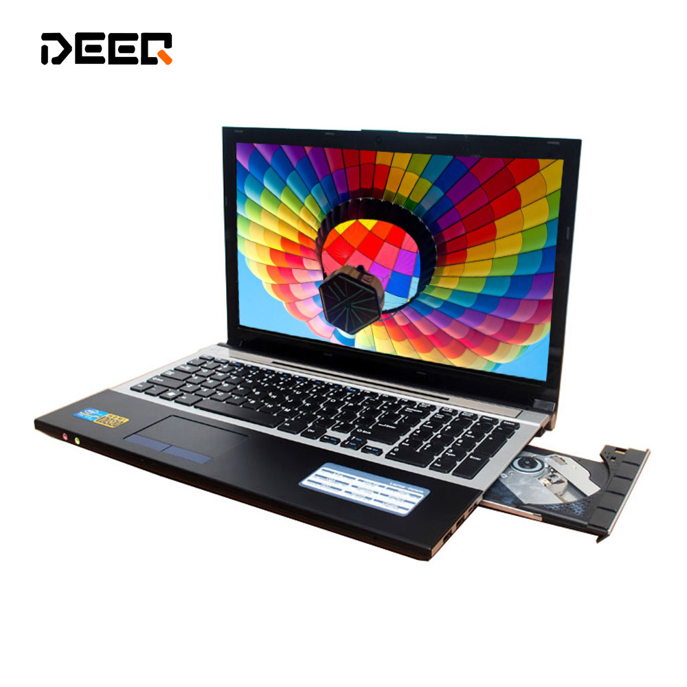 DEEQ 15.6 Inch Fast Surfing Windows7 Notebook Computer 8GB+500GB HDD In-tel I7 3517U 1.9Ghz Quad Core WIFI Webcam DVD,8gb Laptop