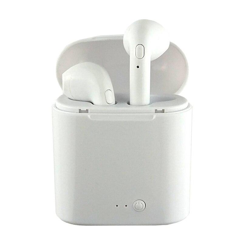 Auriculares inalámbricos Bluetooth TWS i7s Ture auriculares dobles gemelos auriculares estéreo binaurales oído Bud fone de ouvido
