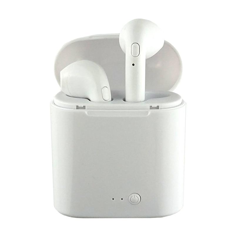 TWS i7s Ture Drahtlose Bluetooth Kopfhörer Ohrhörer Doppel Kopfhörer Twins Ohrhörer Stereo Binaurale Ohr Knospe fone de ouvido