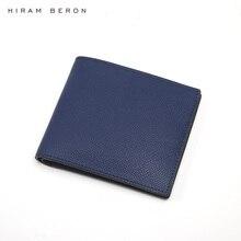 Hiram Beron CUSTOM NAME SERVICE Men Genuine Leather Men