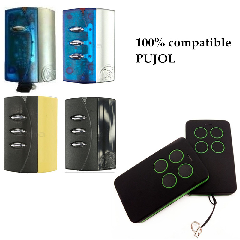 Auto Programming 433 92mhz Remote Control Replace PUJOL NEO RIB LITHIO Rolling Code Wireless RF Hand