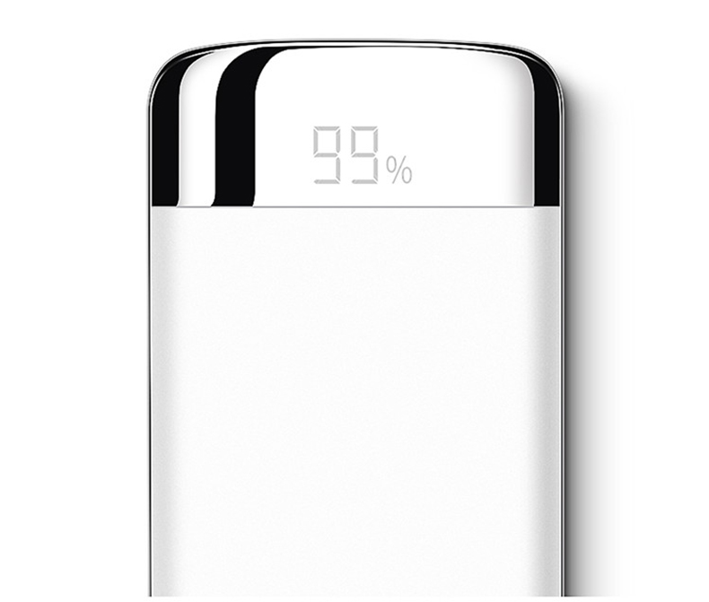 Image 4 - For Xiaomi MI iphone X Note 8 10000mah Power Bank External Battery PoverBank 2 USB LED Powerbank Portable Mobile phone Charger-in Mobile Phone Chargers from Cellphones & Telecommunications