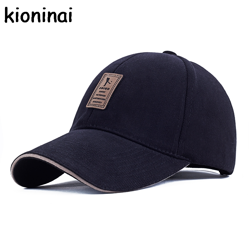 EDIKO And Golf Logo Cotton Baseball Cap Sports Golf Snapback Outdoor Simple Solid Hats For Men Bone Gorras Casquette Chapeu fashion solid color baseball cap for men and women