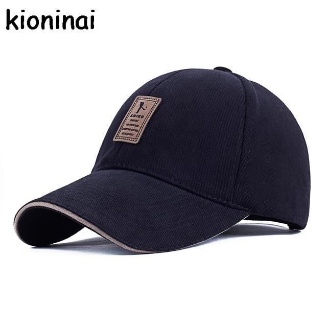 127de1b39a9 EDIKO And Golf Logo Cotton Baseball Cap Sports Golf Snapback Outdoor Simple  Solid Hats For Men Bone Gorras Casquette Chapeu