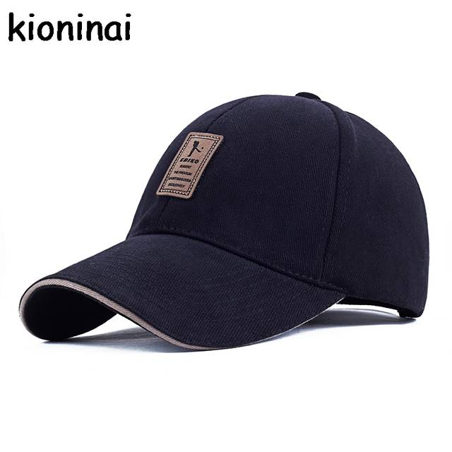 5f705d15abf EDIKO And Golf Logo Cotton Baseball Cap Sports Golf Snapback Outdoor Simple  Solid Hats For Men. placeholder ...