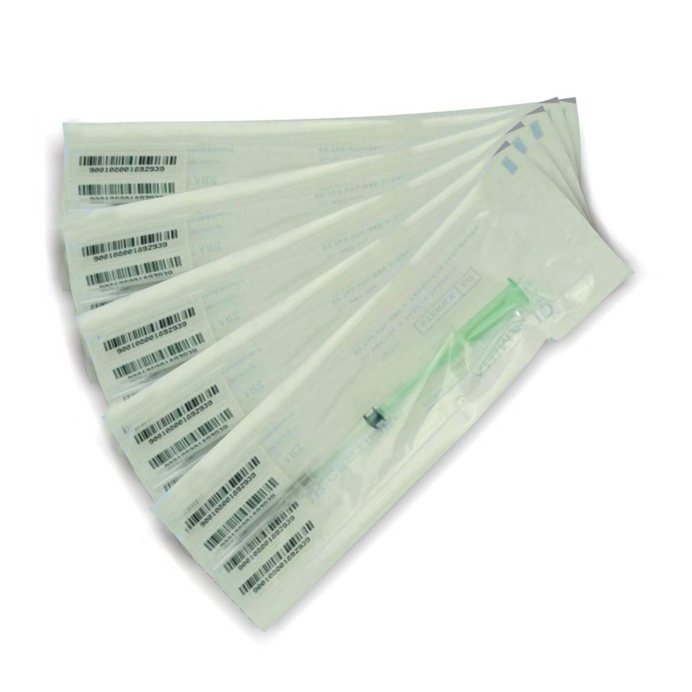 10 компл. все steriled 2.12*12 мм 134.2 кгц имплантируемые микрочипы для животных микрочип с em4305 iso11785/84 этикетки