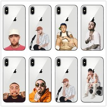 Macs Miller Case silicone Soft Phone Case For iPhone Xs Max Xr 7 Plus 6s Rapper Case  Back Covers For iPhone 8 11 11PRO macs for seniors for dummies®