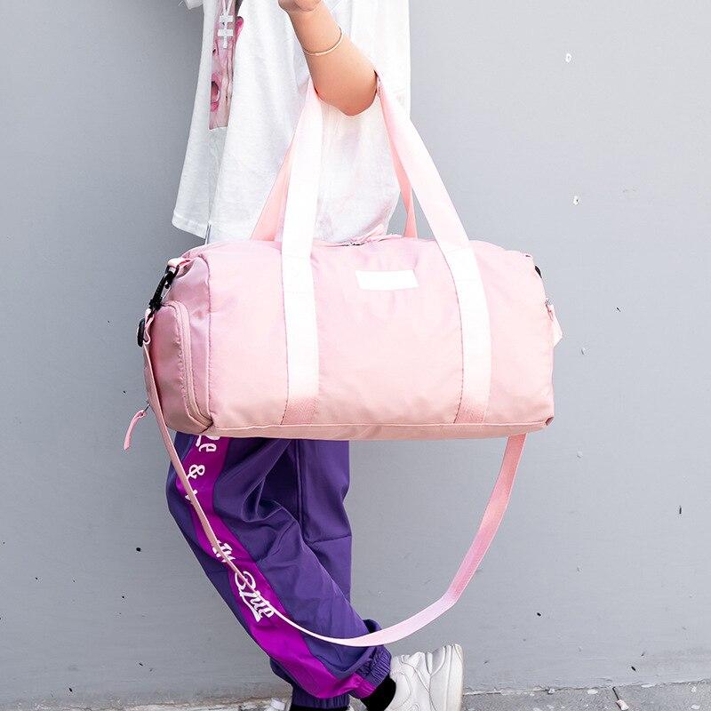 <+>  Сухая влажная женская женская сумка для йоги Водонепроницаемая спортивная сумка для бассейна Сумка д ①