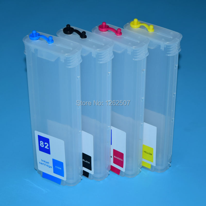 BOMA-TEAM 280ml*4colors HP82 Bulk Ciss Refill ink cartridge with ARC permanent chips for HP Designjet 510 HP82 for hp 82 Printer high quality 8color 1000ml hp91 printing pigment ink for hp designjet z6100 printer refill ink cartridge