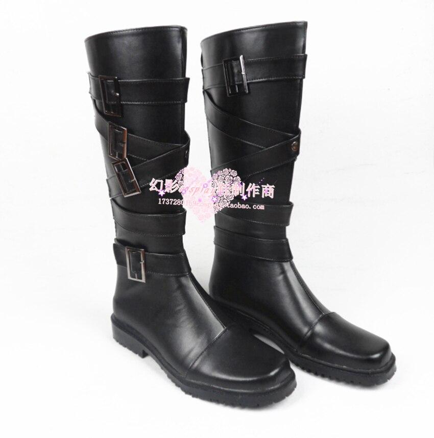 Danganronpa: Trigger Happy Havoc Tanaka Gandamu Cosplay Shoes Boots Custom Made 750
