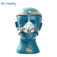 BMC NM4 Nasal Mask With Headgear and SML 3 Size Silicon Gel Cushion For CPAP & Auto CPAP Sleep Snoring Apnea Health & Beauty