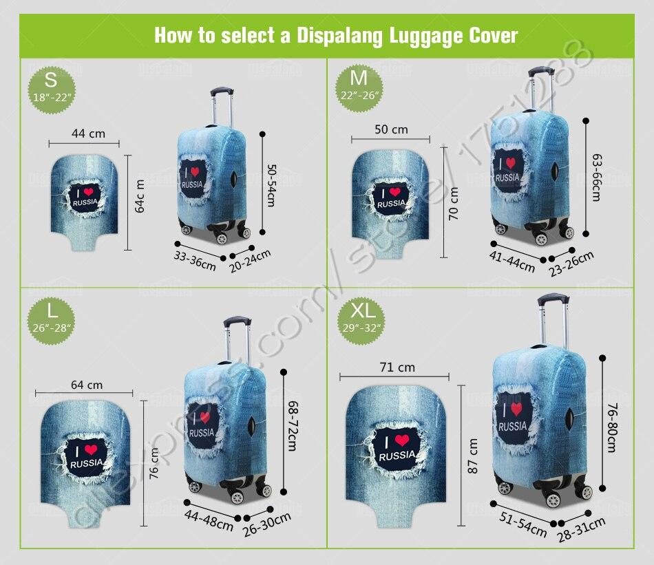 Mala para 18-30 Polegada Casos Carrinho etiquetas de bagagem