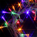100 LED 12M Mix-color String Fairy Lights 8 Modes Party Christmas Garden Party Colorful LIght Strips Adapt to Different Shapes