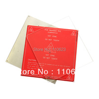 3D Printer Heated Set Heatbed MK2a Aluminium Bed Mount Plate Borosilicate Glass Plate For Reprap Prusa