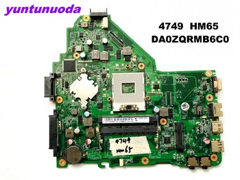 Original for ACER 4749 laptop motherboard 4749  HM65  DA0ZQRMB6C0  tested good free shipping
