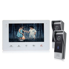 Homefong 7 Color Video Door Phone Viewer for Home Security Touch Screen Take Photo Call Phone