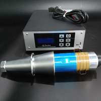 2000W/15khz ultrasonic welding generator price with welding transducer for plastic welding machine and Bag Making Machinery