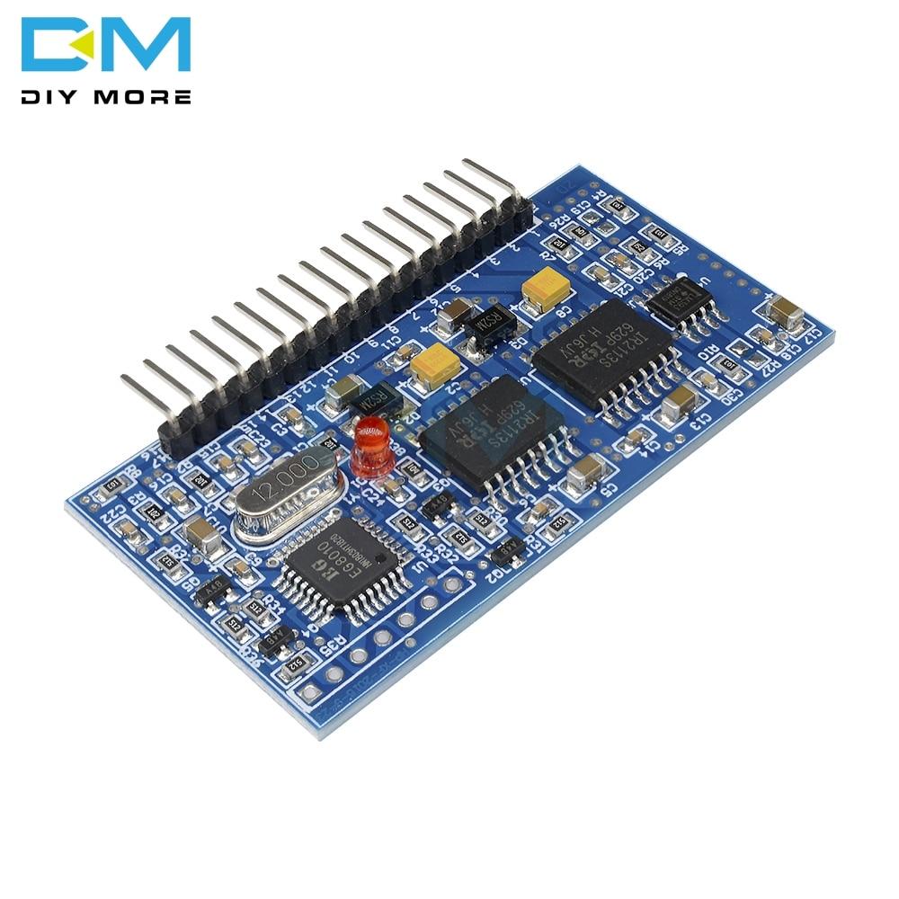 Pure Sine Wave Inverter Generator SPWM Boost Control Board EGS002 EG8010 IR2113 RS232 Serial 1602 LCD Driver Module DC-DC DC-AC