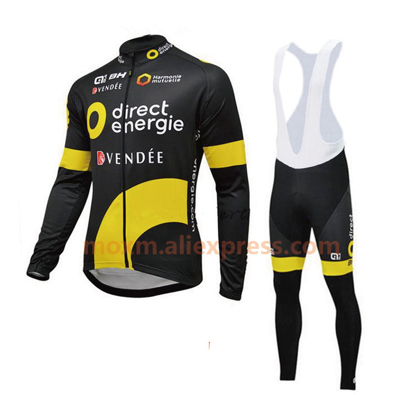 2018 Man's Long Sleeve Cycling Jersey Pro Team 9D Bib Pants Sets Racing Bike Clothing MTB Bicycle Clothes Bicycle Cycling Jersey 3d silicone cube 2012 team long sleeve autumn bib cycling wear clothes bicycle bike riding cycling jerseys bib pants set