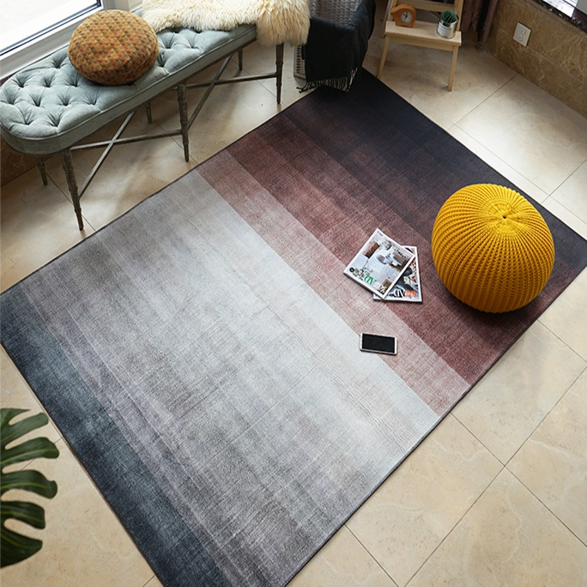 Post-modern romantic gradually changing color  bedside rug ,big size living room coffee table carpet,decoration dining room rugPost-modern romantic gradually changing color  bedside rug ,big size living room coffee table carpet,decoration dining room rug
