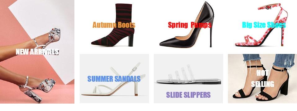 GENSHUO Women Pumps High Heels Silver Sexy High Heels Shoes for Women Stilettos Fashion Luxury Wedding Party Shoes Big Size 14