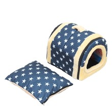 Pet Dog House Nest With Mat Foldable Pet Dog Bed Cat Bed House For Small Medium Dogs Travel Kennels For Cats Pet Products hot dog house nest with mat foldable pet dog bed cat bed house for small medium dogs travel pet bed bag product