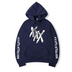 2019 XXXTentacion Hoodies Men/Women Casual Pullover Streetwear Sweatshirt Sudadera Hombre Harajuku Male Hood Crewneck 3XL 6
