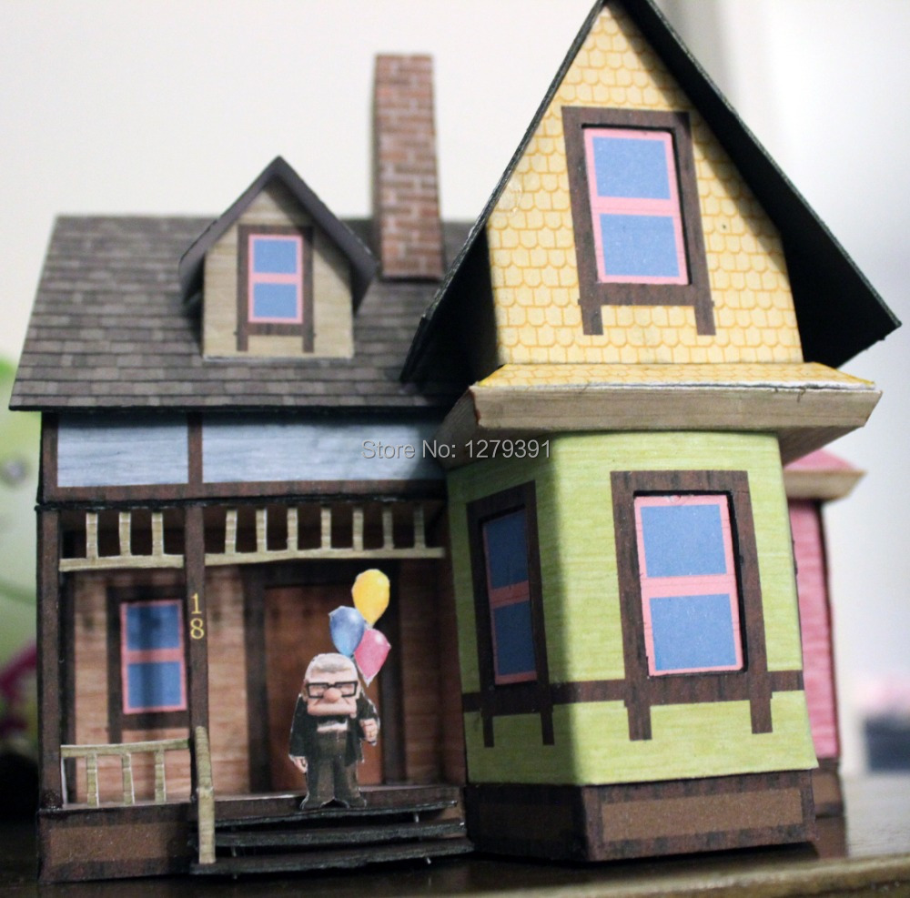 Free Shipping 187ho Architecture Papermodel Kitcarls