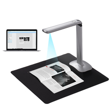 High speed Scanner Foldable High Speed USB Book Document Scanner 15 Mega Pixels A3 & A4 Scanning Size LED Light AI Technology