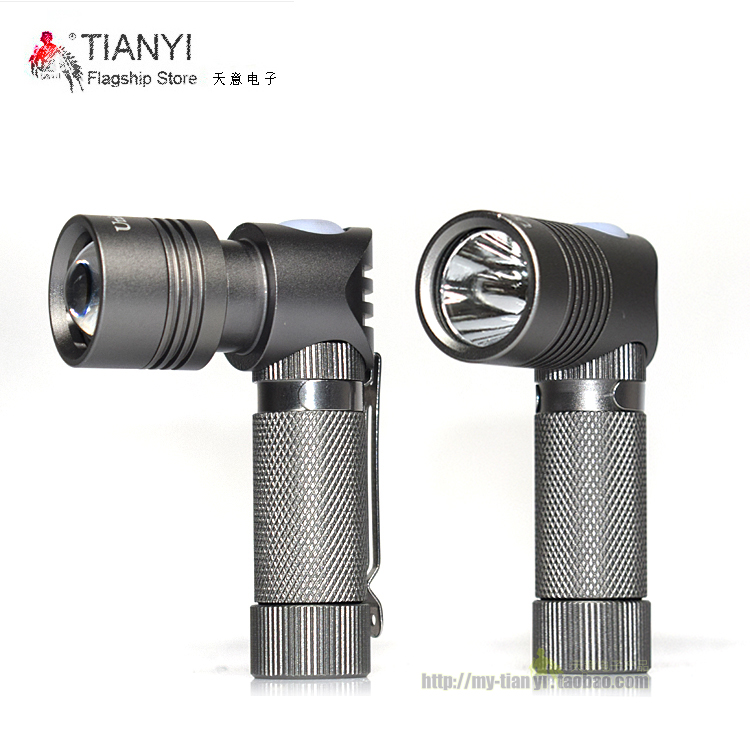 Mini Portable LED Torch Led Flashlight CREE XP-G Led Right Angle Lamp Torch 3 Modes Light For 14500 Or AA Battery hot flashlight small sun zy 568 super mini aa led flashlight torch