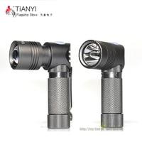 Mini Portable LED Torch Led Flashlight CREE XP G Led Right Angle Lamp Torch 3 Modes Light For 14500 Or AA Battery hot flashlight