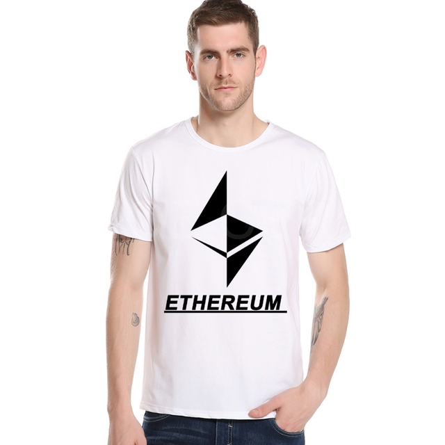 Latest Style Designer Printing Ethereum T shirt Men Diamond Letters ...