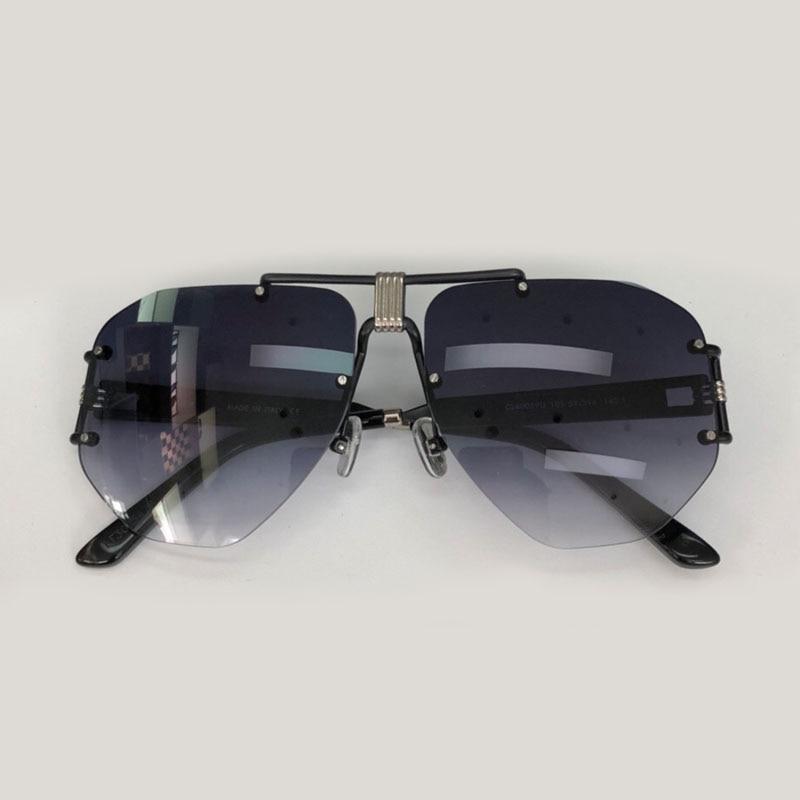 Rimless Sunglasses Women Brand Designer High Quality Oculos De Sol Feminino Retro Fashion Eyewear Female Shades