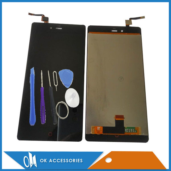 Black White Color For ZTE Nubia Z9 Max NX510J NX512J LCD Display+Touch Screen Digitizer High Quality With Tools Tape 1PC/Lot