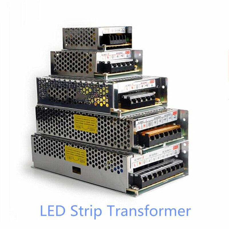 AC 110-240 v zu DC 12 v 1A 2A 3.2A 5A 8.3A 10A 12.5A 15A 20A 30A Schalt power Versorgung Transformatoren Adapter Für LED Streifen licht