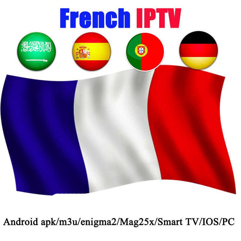 Bahasa Perancis IPTV Berlangganan Kode Neotv Pro untuk Eropa Perancis Spanyol Jerman Bahasa Swedia Sepak Bola Dukungan IPTV M3u Smart TV PC Android aplikasi