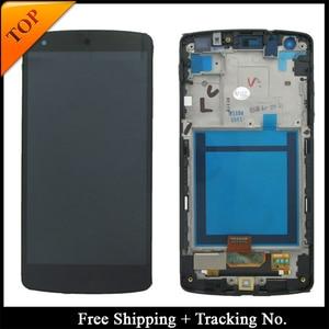 Image 1 - 100% נבדק Gurantee עבור LG Google Nexus 5 D820 LCD עבור נקסוס 5 D821 תצוגת LCD מסך מגע Digitizer עצרת